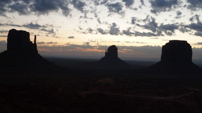 Zonsopgang @ Monument Valley