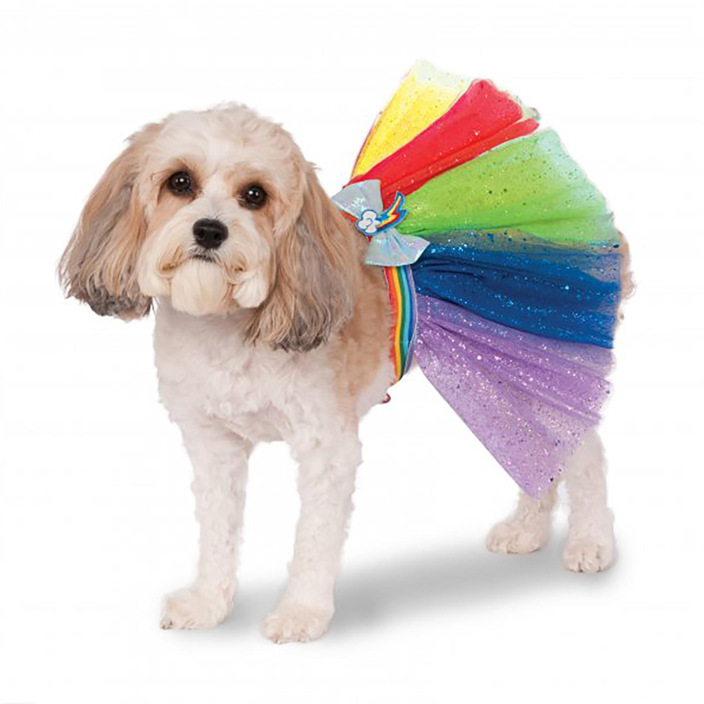 My Little Pony Rainbow Dash Dog Tutu Costume With Same Day