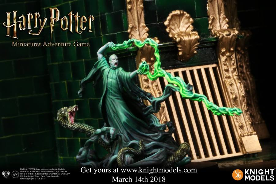 Knight Model s Harry Potter Moves To Webstore Pre Order Set Up     Voldemort   Harry Potter Miniatures Adventure Game