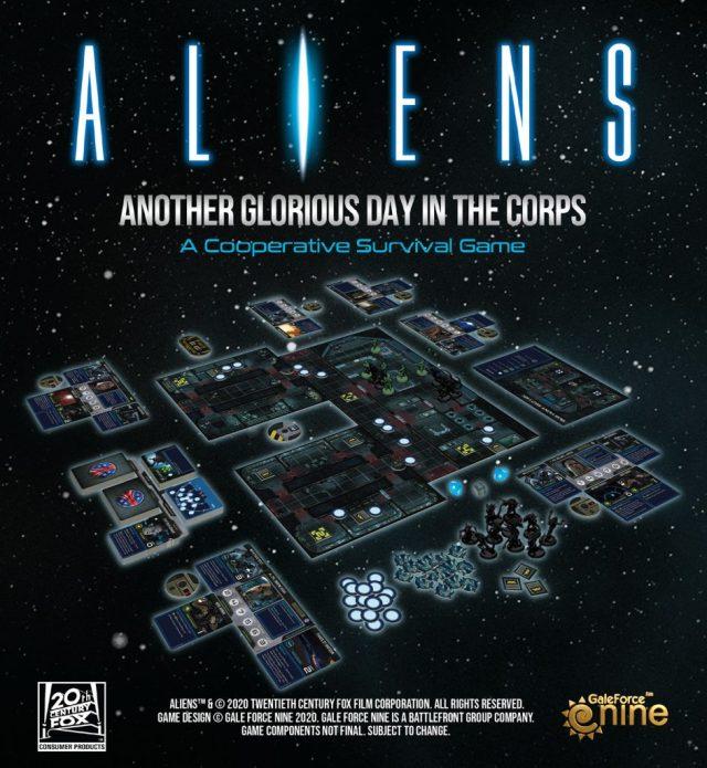 Présentation du jeu Aliens - Gale Force Nine