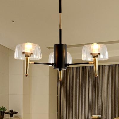 sputnik dining room hanging chandelier traditional prism crystal 3 5 6 lights gold ceiling light