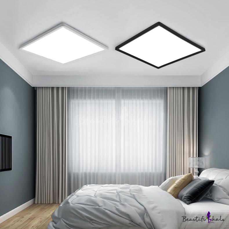 Minimalist Energy Saving 16w Led Square Flush Ceiling