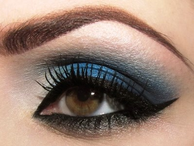 Navy Blue Smokey Eye Makeup By Lisa Eldridge Beauty