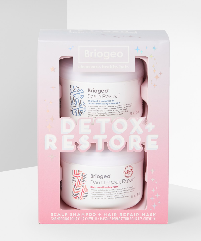 Briogeo - Detox + Restore Kit
