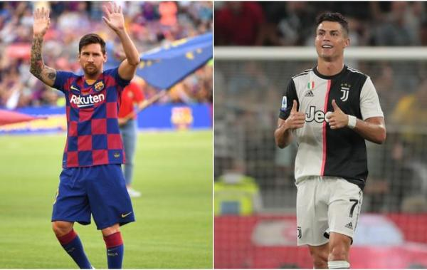 FIFA 20: Who joins Messi and Ronaldo in the top-10 rated players?