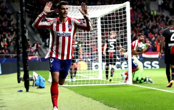 Morata Header Moves Atletico Madrid Closer To UCL Knockouts