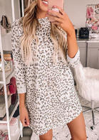 Leopard Pocket Mini Dress