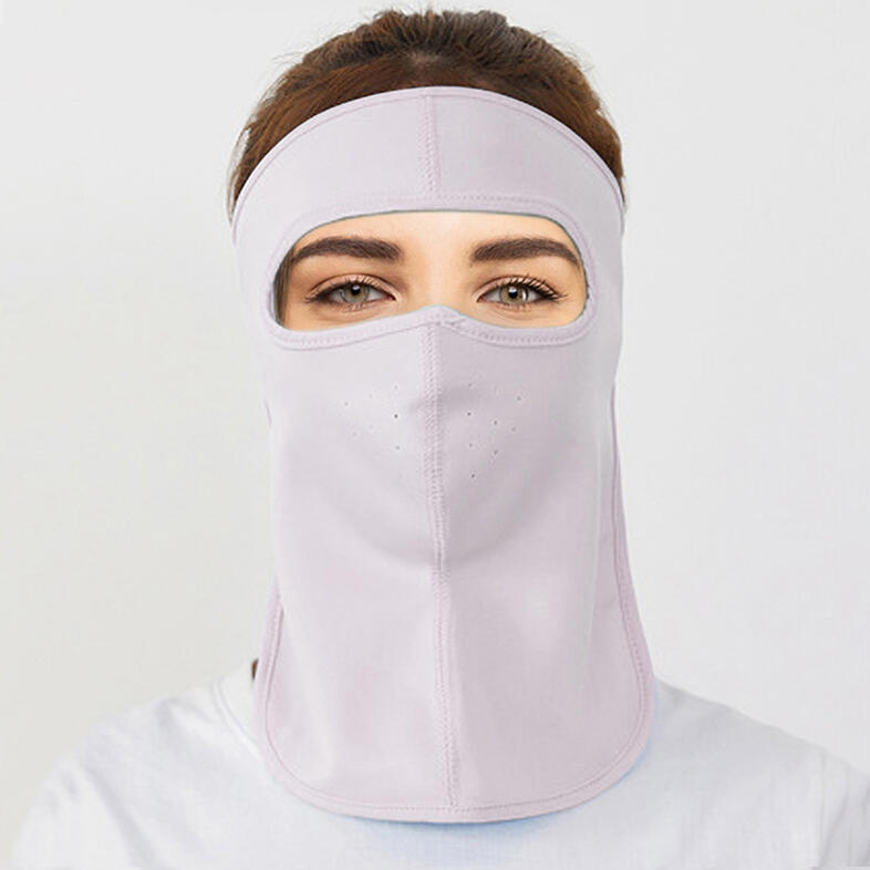 Hollow Out Full Face Protective Face Mask