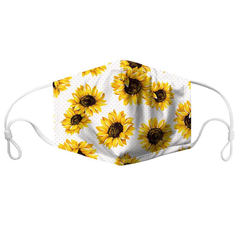 Sunflower Anti-Dust Breathable Face Mask