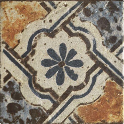 carthage antique italian floor tiles 6x6 patchwork