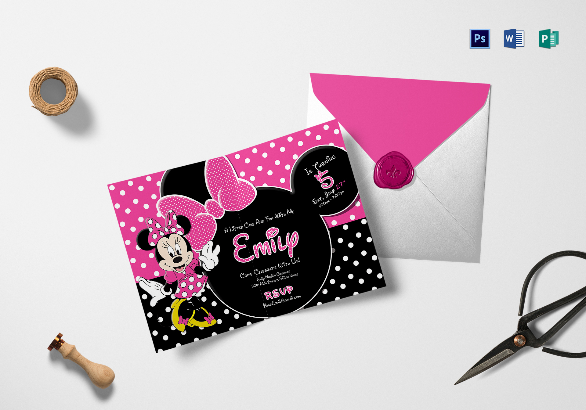 special minnie mouse birthday