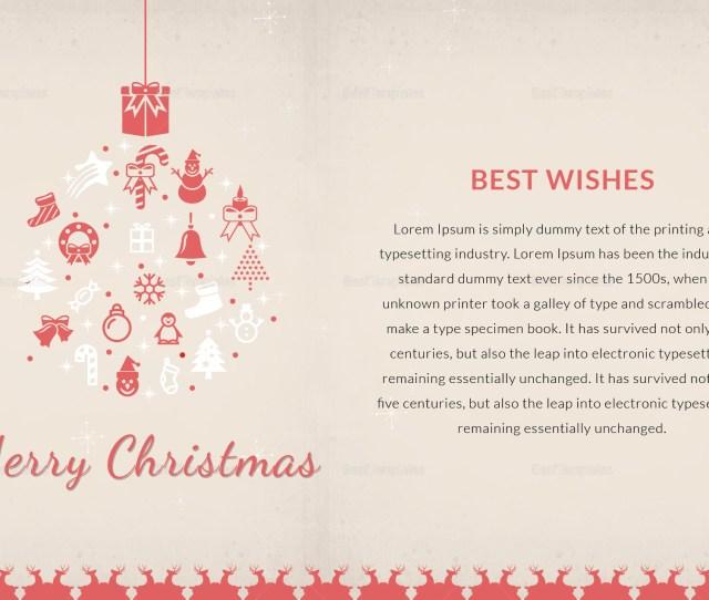 Christmas Thanks You Card