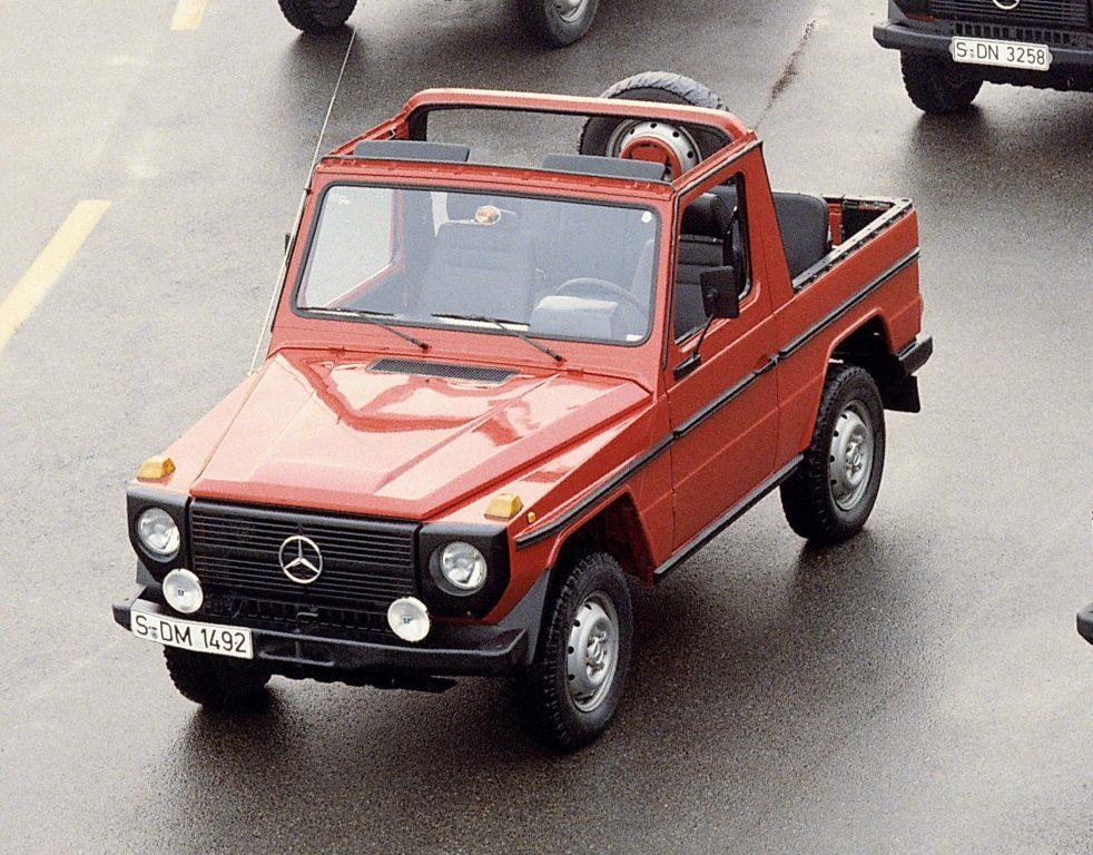 Mercedes Benz G Wagen 1979 W460 First Generation G
