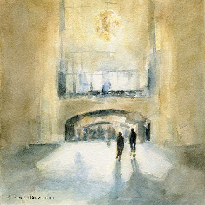 Grand Central Station Wall Art - New York Themed Art - Beverly Brown ...
