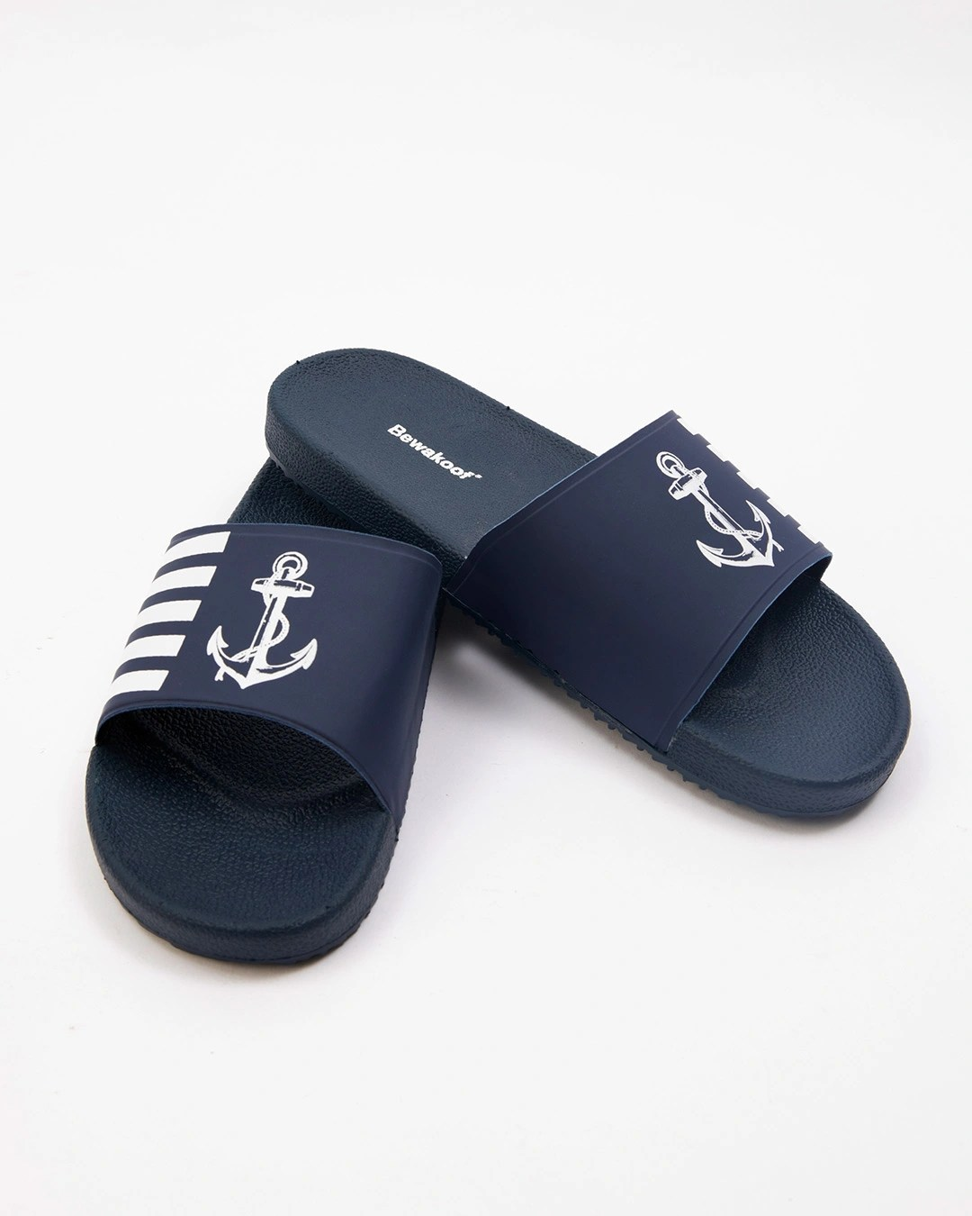 Buy Anchor Printed Sliders For Men Online India