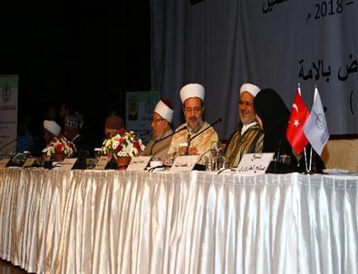 Başbakan Yardımcısı İşler, Dünya Müslüman Alimler Birliği Toplantısına Katıldı