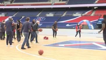 Des anciens joueurs parisiens au Parc des Princes pour les enfants de la fondation PSG