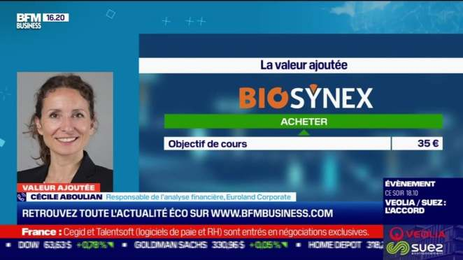 Cécile Aboulian (Euroland Corporate) : Biosynex à l'achat