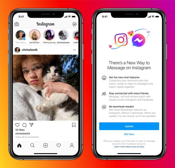 Messenger pronto se integrará en Instagram