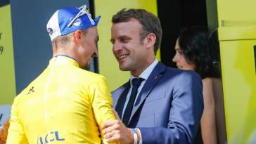 Quand Emmanuel Macron clame son amour pour le Tour de France
