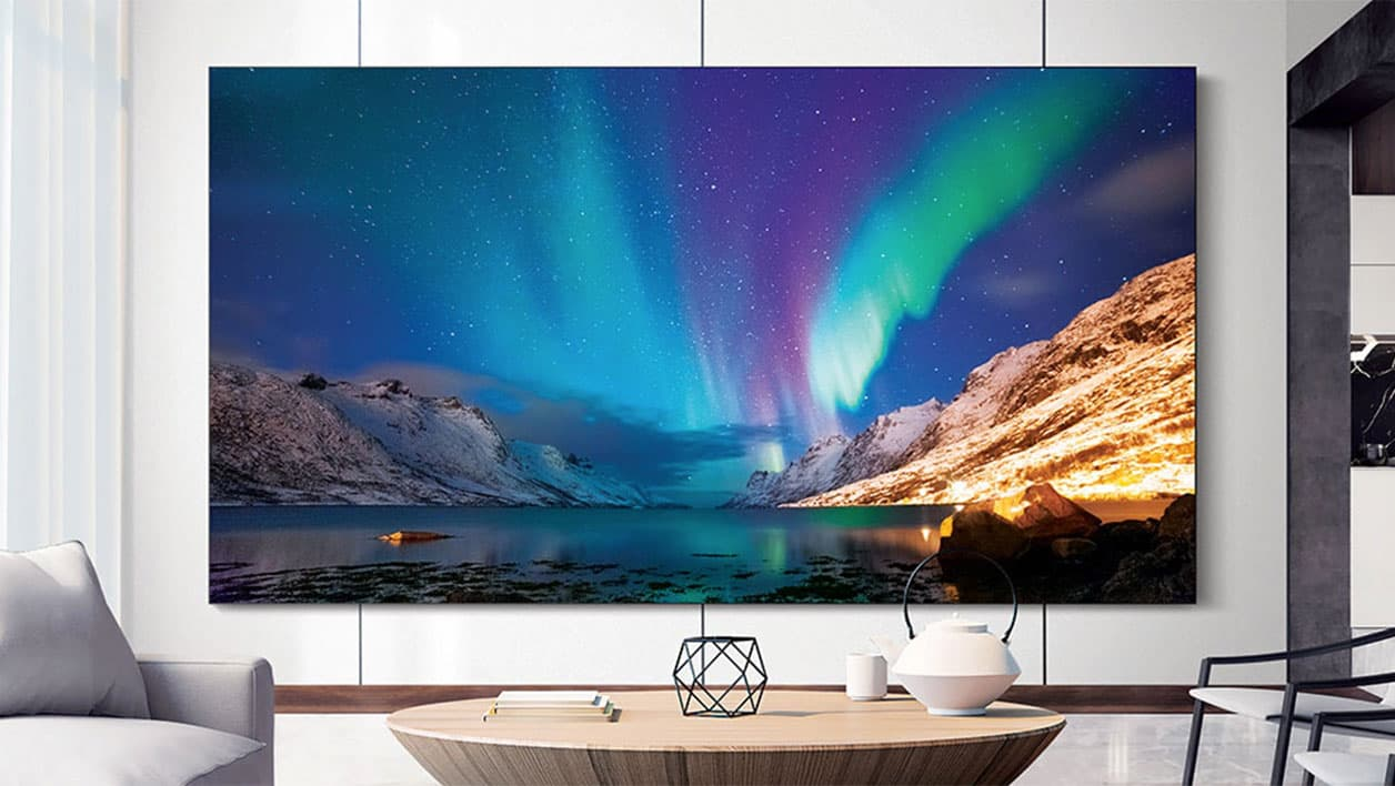 samsung devoile une gigantesque tv a