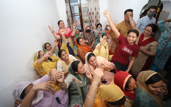 After 5 days, laughter has returned to these faces, who are dying of fear of something untoward.  Photo- Ankur Sethi
