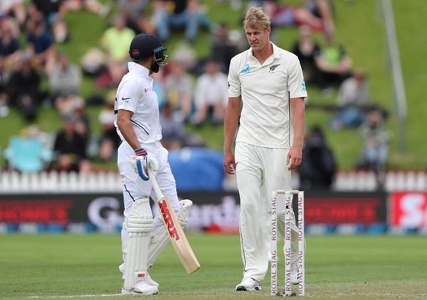 During the 2020 Test series against India, Jameson wreaked havoc with both ball and bat.