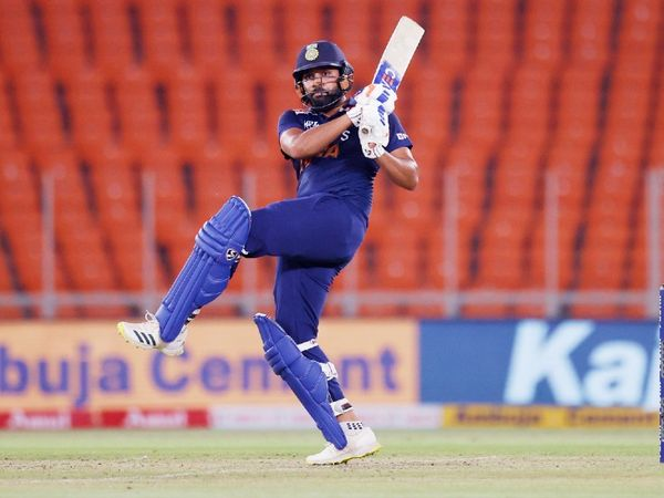 Rohit Sharma scored 64 runs off 34 balls in the last match.  He played 3 matches in the series, scoring 91 runs at an average of 30.33.  A Fifty is also studded.