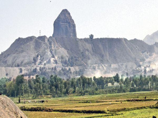 Mining mafia was swallowed by 12 mountains of the 100 million year old palace mountain range | 10 करोड़ वर्ष पुरानी राजमहल पर्वत शृंखला के 12 पहाड़ ही निगल गया माइनिंग माफिया