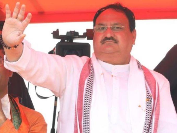 बीजेपी अध्यक्ष जेपी नड्डा। - Dainik Bhaskar