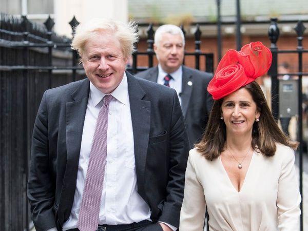 Second wife Merina Wheeler and Boris Johnson separated in September 2018.