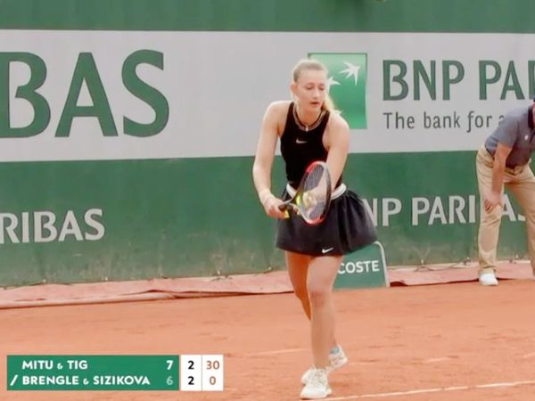 This photo is of French Open 2020.  Then Sijikova and Brengle were defeated.