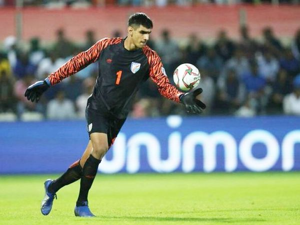 Gurpreet made a total of 9  saves in the match.