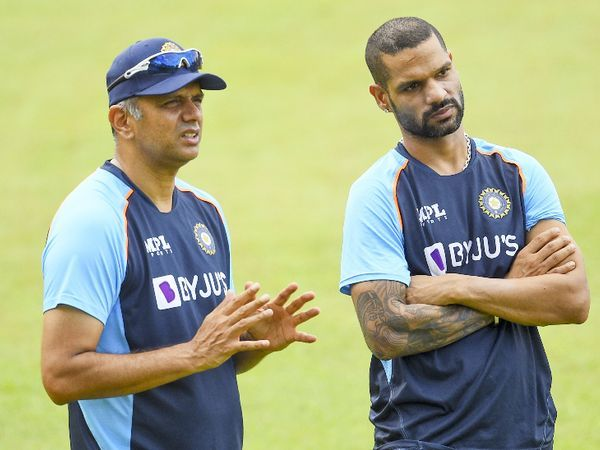 With Team India, Rahul Dravid has gone on a tour of Sri Lanka as a coach.