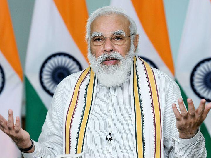 प्रधानमंत्री नरेंद्र मोदी हुगली में जनसभा को भी संबोधित करेंगे। (फाइल फोटो) - Dainik Bhaskar