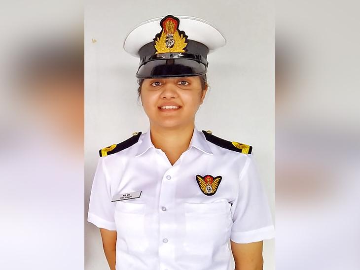 Sub Lieutenant Reeti Singh.