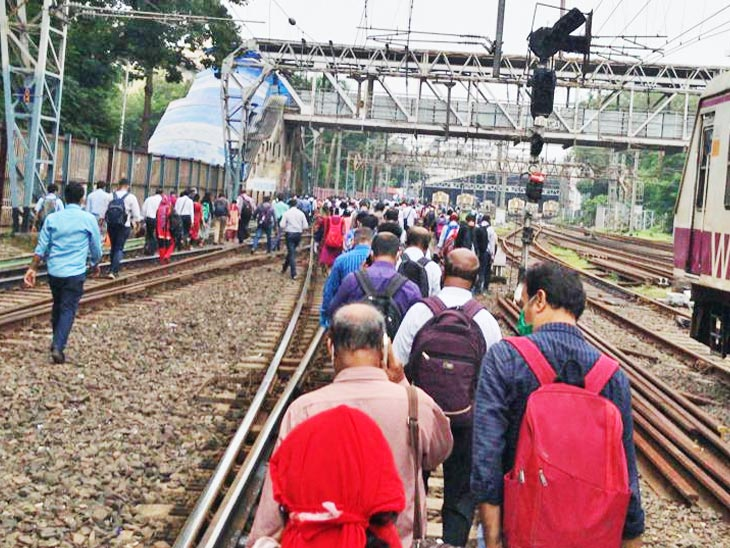 No electricity in many areas including Mumbai, Thane, Navi Mumbai and Panvel due to grid failure; Tata's power supply fails; Local train stops, millions of commuters stranded - News Unique  - train 55 1602482152