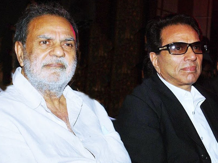 Ajit Singh Deol and Dharmendra.  Ajit Singh Deol passed away on 23 October 2015.  They were taking treatment of the cheek bladder compound.