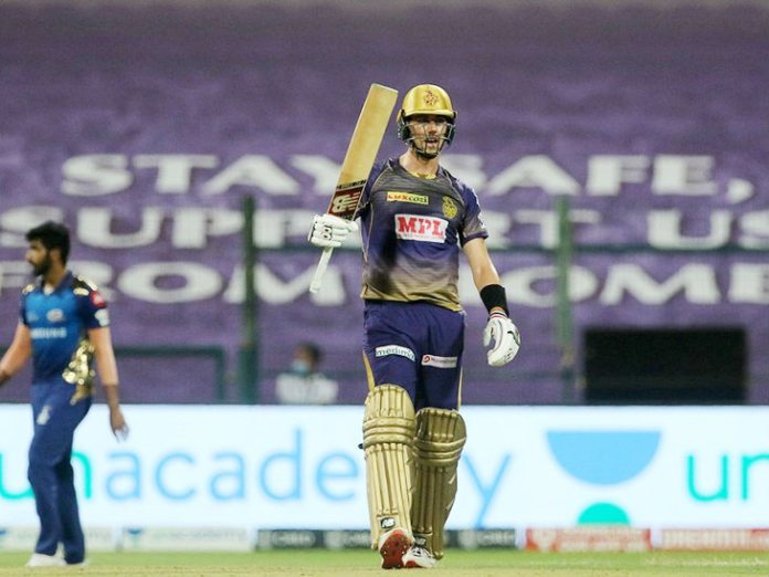 Cummins made his first fifty in the IPL.  He was not out scoring 53 runs off 36 balls.