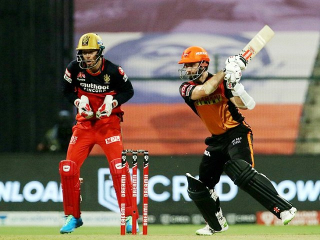 Williamson won the team by placing his 14th fifty in the IPL.