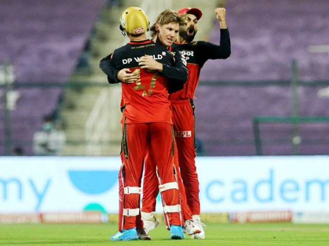 Bengaluru pushed Hyderabad to the backfoot after Manish Pandey was dismissed, but his hopes were dashed by Kane Williamson and Jason Holder.