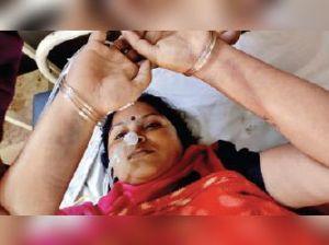 खंडवा जीआरपी कठघरे में: माेबाइल चाेरी के आरोपी की बहन को दिनभर थाने में बैठाया, वेदना में कीटनाशक पिया, खतरे से बाहर