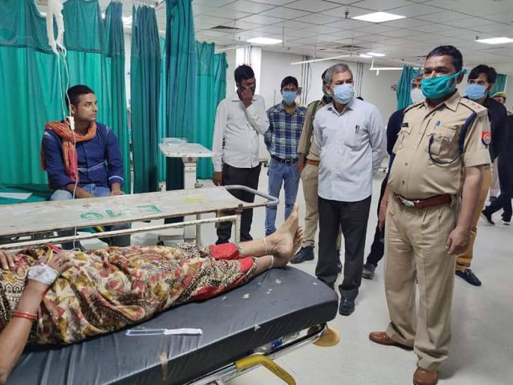 The injured have been admitted to Saifai Hospital.