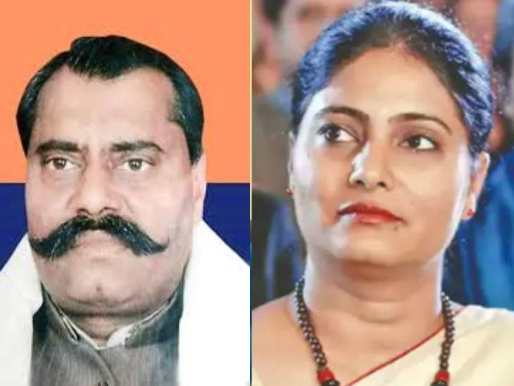Sonelal Patel and Anupriya Patel.  Anupriya is a minister in the Modi government.  Sonalal is his father.
