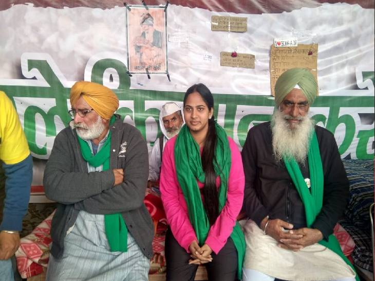 Poonam Pandit has appeared on the stage of farmers' movements many times.