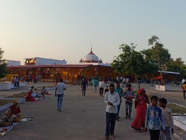 रानगिर में माता हरसिद्धि का प्रसिद्ध मंदिर।