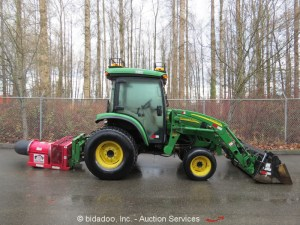 2006 John Deere 4320 Loader 4x4 Ag Tractor Cab AC 48HP