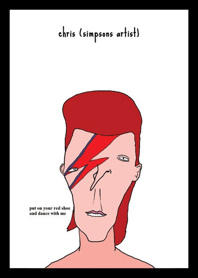 Pictures That I Gone And Done David Bowie Saggy Stardust