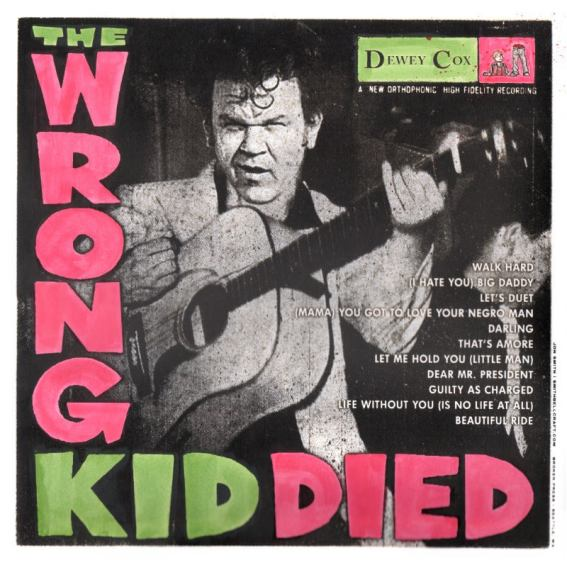 Dewey Cox Album Cover Wrong Kid Died