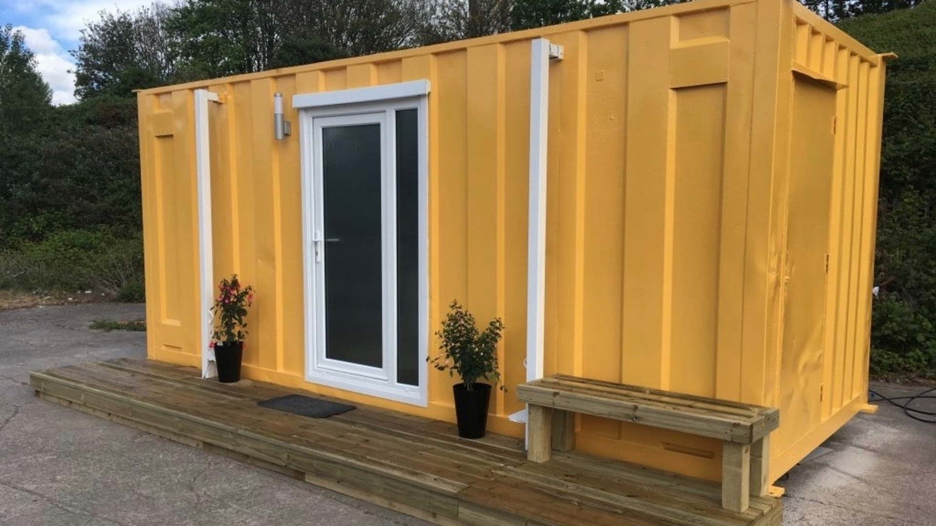 Bristol Community Turns Shipping Containers Into Homes